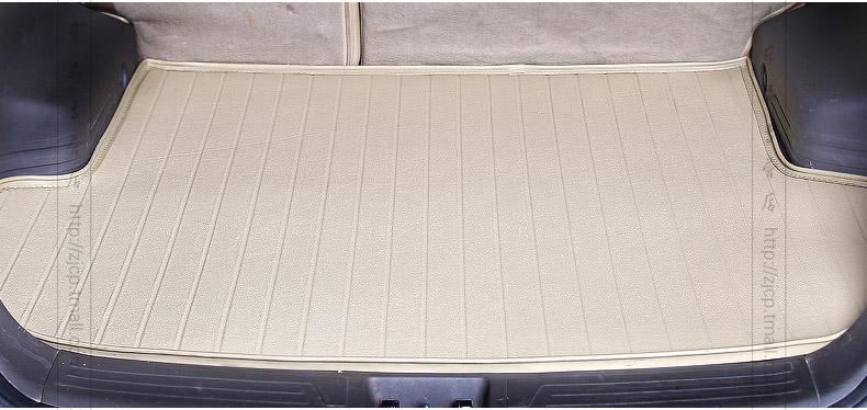 北京现代领翔雅绅特瑞纳ix35领动朗动专用汽车后备箱垫子尾箱垫
